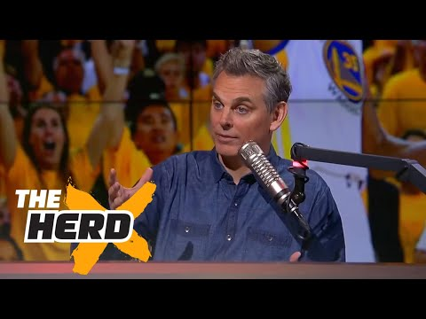 Warriors win Game 1 of 2017 NBA Finals Kevin Durant impresses Colin reacts THE HERD