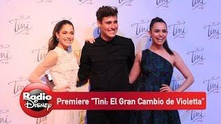 Premiere ¨Tini: El Gran Cambio de Violetta¨