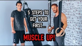 5 Steps To Learn And Master Your First Muscle Up - Can Lazyron Do It??
