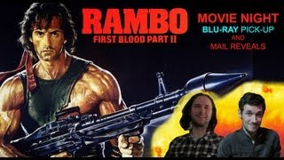 Movie Night: Rambo: First Blood Part II/Blu-ray Pick-up/MAIL FROM MARK AND ROSS!