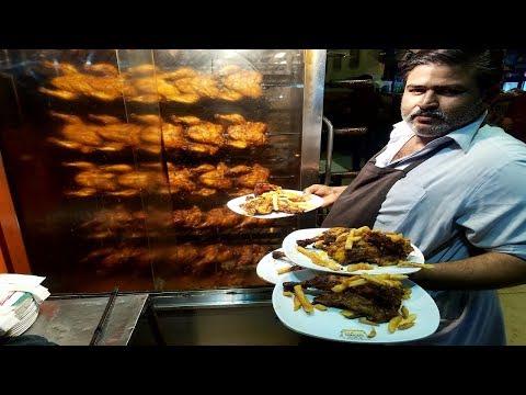 Xxx Mp4 Hussainabad Ka Famous CHICKEN CHARGHA Ghousia Restaurant Food Street Karachi Pakistan 3gp Sex