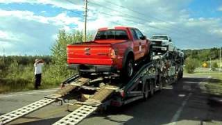 This is how NOT to unload a brand new Raptor...