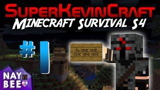 Minecraft Survival S4 #1 - Mining, Farming, and Meme-ing - NaybeeTV