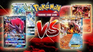 Zoroark GX/Drampa GX VS. Volcanion EX - Pokemon TCG (Close Game!)