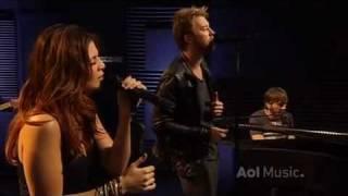 Lady Antebellum - Hello World (Live AOL Sessions HQ)