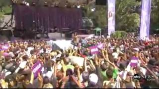 WHITNEY HOUSTON - MY LOVE IS YOUR LOVE (LIVE AT CENTRAL PARK) GMA 09-02-09