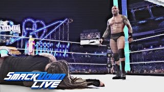 Take a frightening look at the House of Horrors Match at WWE Payback: SmackDown LIVE, April 25, 2017