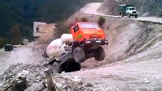 #7 Funny road accidents , cool truck , funny tractor , funny car , funny video