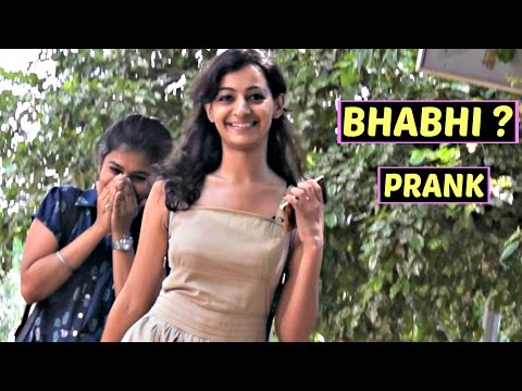 Calling Cute Girls 'BHABHI' Prank | AVRprankTV ft. Rishabh Rai (Pranks in India)