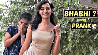 Calling Cute Girls 'BHABHI' Prank | AVRprankTV ft. Rishabh Rai (Pranks in India)