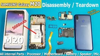 Samsung Galaxy M20 Disassembly /Samsung M20 Teardown || How to Open Samsung Galaxy M20