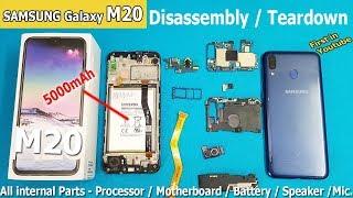 Samsung Galaxy M20 Disassembly /Samsung M20 Teardown    How to Open Samsung Galaxy M20
