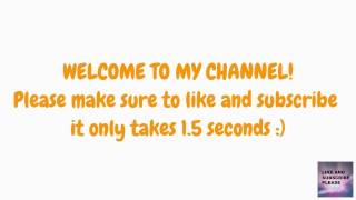 PLEASE LIKE AND SUBSCRIBE