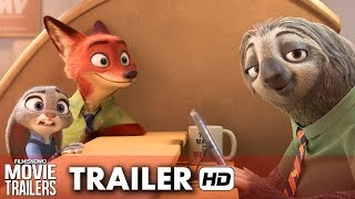 Zootopia Official Sloth Trailer #1 (2016) - Disney Animation [HD]
