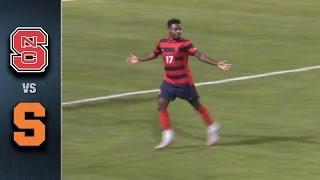 NC State vs. Syracuse ACC Men's Soccer Chanpionship Highlights (2015)