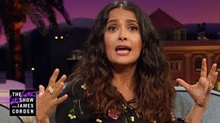 Salma Hayek Pinault Will Never Dive That Deep Again