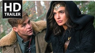 WONDER WOMAN All Trailer + Clips (Ultra HD 4K - 2017)