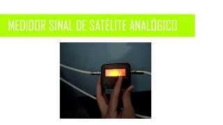 Localizador de Satélites Analógico. Apontamento de Antenas #10.