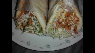 Chicken Shawarma Recipe at Home,  Homemade Tahini Sauce Recipe