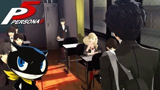 FIRST DAY OF SCHOOL & MORGANA | Persona 5 [3]