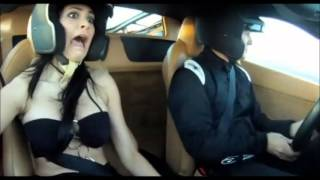 Hot women sexy - Driving breast test HD [1080p]