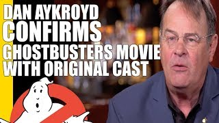 New Ghostbusters 3 Reunion Movie Being Written, Dan Aykroyd talks to Dan Rather!