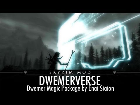 Skyrim Mod Feature Dwemerverse Dwemer Magic Package by Enai Siaion