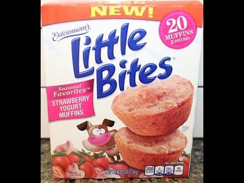 recipe: little bites strawberry yogurt muffins [15]