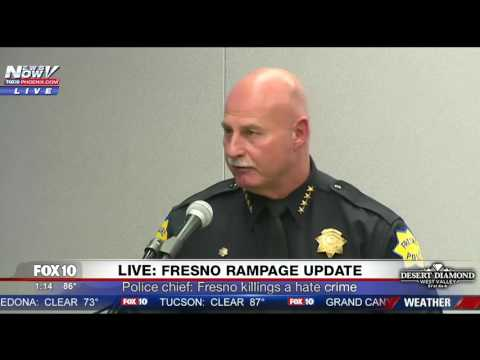 Fresno Police PRESS CONFERENCE Announce Victims in Shooting Rampage Details Suspect s Final Moments