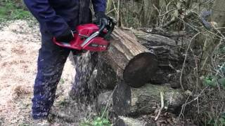 XXX TOOLS Chainsaw in action