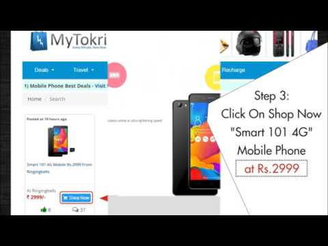 How to Buy Smart 101 4G Mobile Phone at Rs.2999