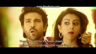 Telugu movie(Bruce Lee) 720p video song