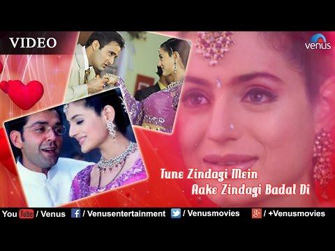 Tune Zindagi Mein Aake Full Video Song   Humraaz   Bobby Deol, Amisha Patel   Udit Narayan