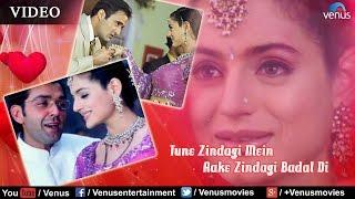 Tune Zindagi Mein Aake Full Video Song | Humraaz | Bobby Deol, Amisha Patel | Udit Narayan