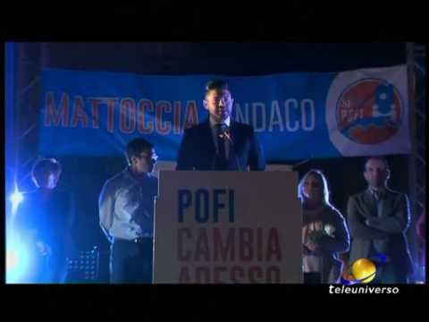 POFI: Presentazione Candidato Sindaco Mattoccia del 15-05-2017