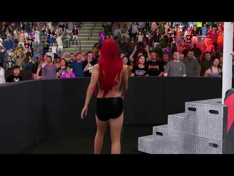 ALMOST COMPLETELY NAKED | Every Female as a Male | WWE 2K16 PC Modding