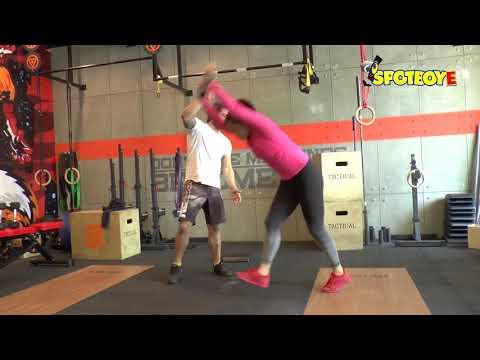 Xxx Mp4 Fitness Freak Neetu Chandra Workout Session At The Gym SpotboyE 3gp Sex