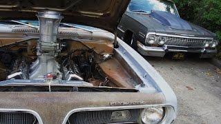 68 'CUDA FIELD FIND CAR BAD ASS 454