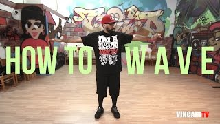 Learn How To Wave | Beginning Popping | Boogie Frantick (Mighty Zulu Kingz)