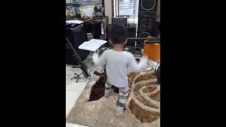 My son love matal music, post by Saharath Sopraseuth