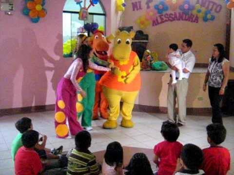 Mundo Mágico de Diversión Eventos Infantiles Show Infantil Backyardigans