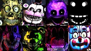 10 SECRET JUMPSCARES! | FNAF & MODS | IULITM