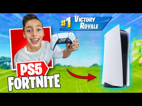 Playing Fortnite with PS5 Controller EPIC Royalty Gaming