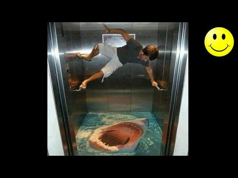 Best Of Elevator Pranks Ultimate Elevator Funny Scare Prank Compilation 2016
