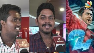 24 Public Review | Surya, Samantha, Nithya Menen, AR.Rahman | Opinion | Full Movie
