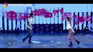 """Rocío Guirao Díaz y su marido, Nicolás Paladini bailaron """"El estudiante"""", de Pipo Cipolatti"""