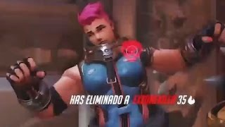 Overwatch Funny Moments 39 - Zarya Gets Caught
