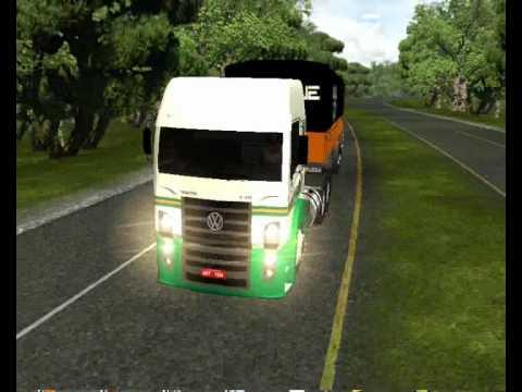 Simulador de Caminhão Constellation 19.320 no Bi trem