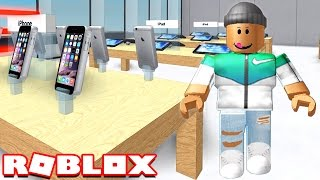 MAKING MY OWN APPLE STORE IN ROBLOX