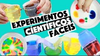 IDEIAS INCRÍVEIS PARA FAZER EM CASA #4 - EXPERIMENTOS CIENTÍFICOS!!! 😱   KIM ROSACUCA